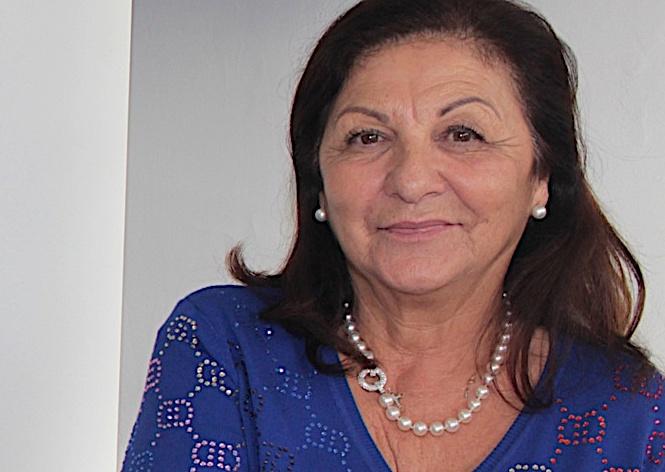 Françoise Ciavaldini, présidente du TC Calvi et membre du Comité Directeur de la Ligue