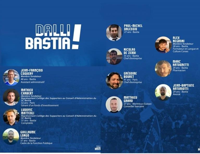 """Victoire sans ambiguité pour la liste """"Dalli Bastia!"""" avec plus de 79% des voix"""