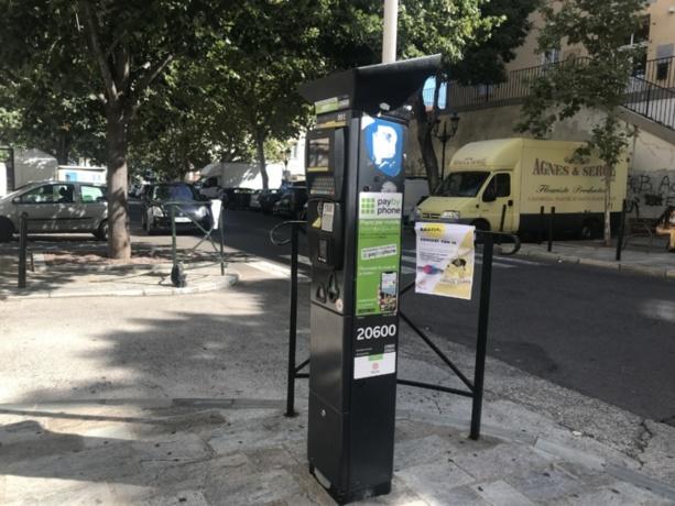 Stationnement à Bastia : la gratuité est prolongée jusqu'au 8 juin