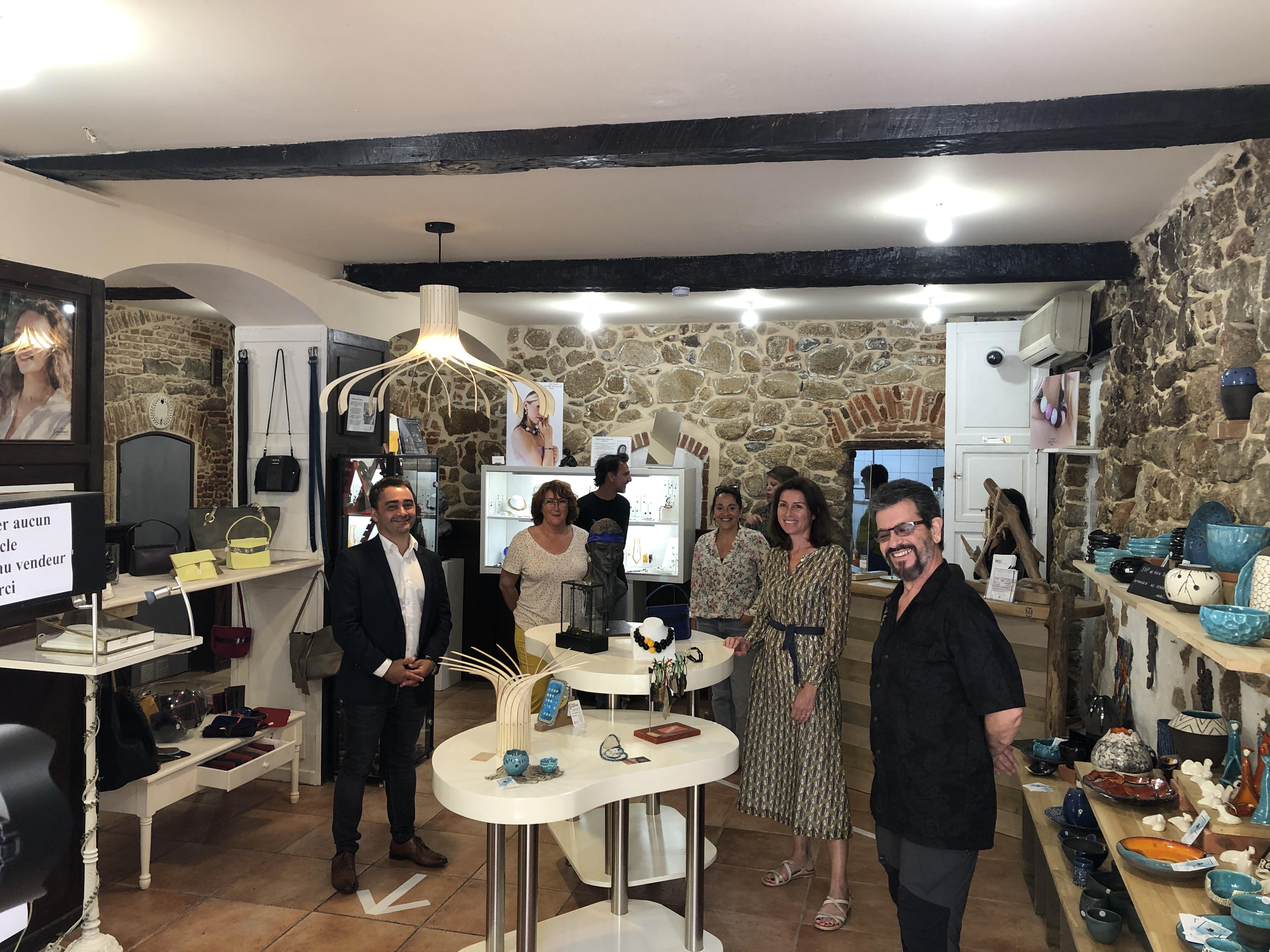 La boutique éphémère « Carré d'Art » revient à Ajaccio