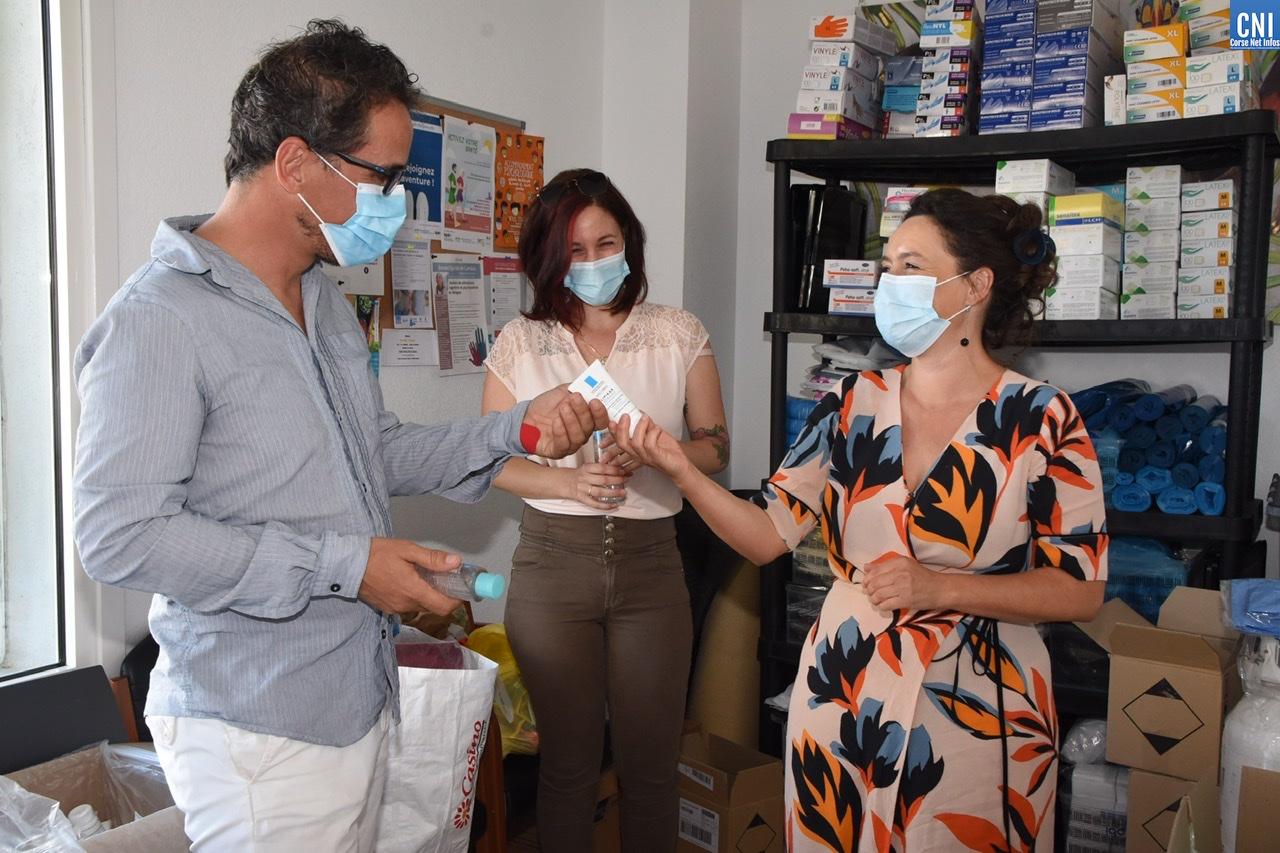 Lisula : Distribution de matériel médical aux professionnels de santé