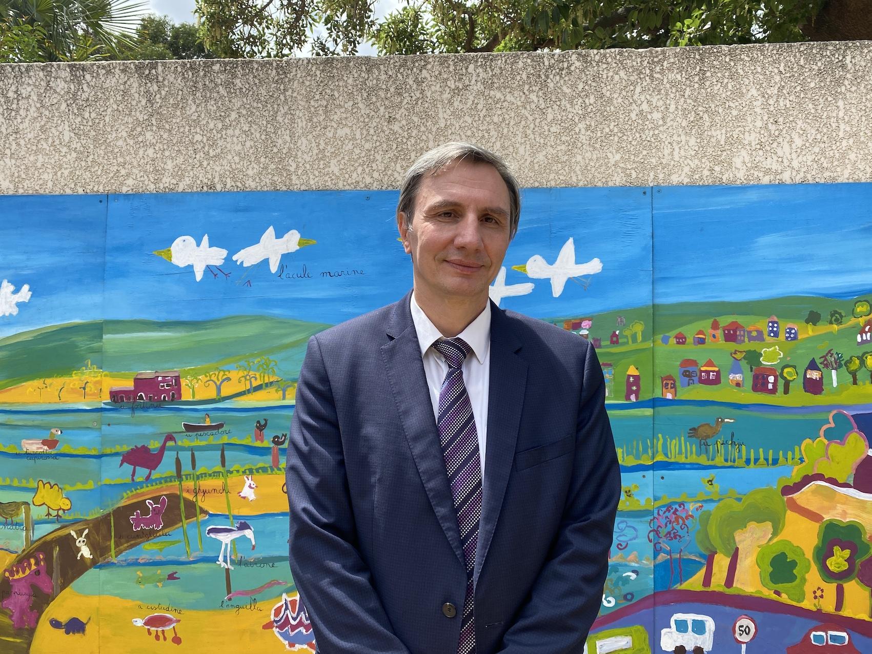Christian Mendive, directeur académique des services de l'éducation nationale de Haute-Corse