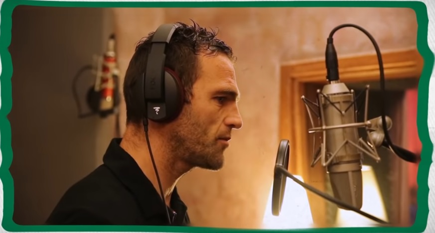 Julien Sablé, entraineur adjoint à l'AS St Etienne, ancien joueur du SC Bastia, a chanté pour I Muvrini...