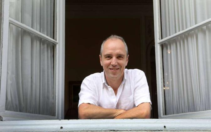"Michel Feltin-Palas rédacteur en chef de ""L'Express"","