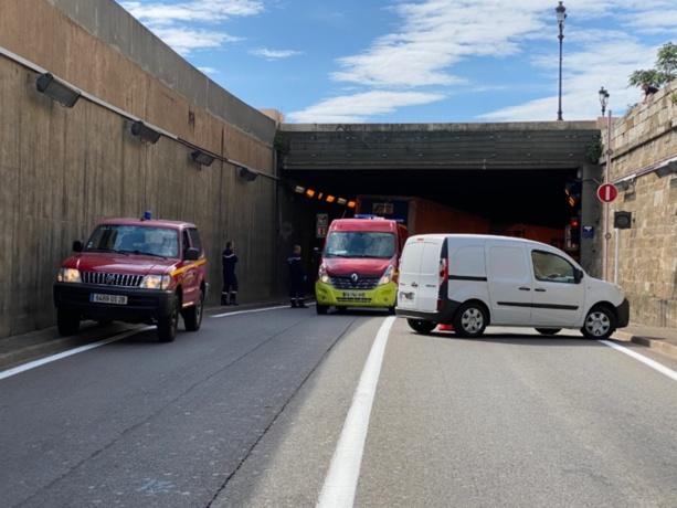 Drame à l'entrée du tunnel de Bastia