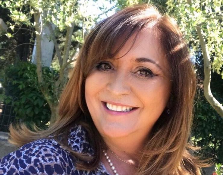 Cathy Cognetti, élue 1ère vice-présidente de la Communauté de communes Pasquale Paoli en Haute-Corse, conseillère municipale de Merusaglia et conseillère territoriale du groupe Andà Per Dumane à l'Assemblée de Corse.
