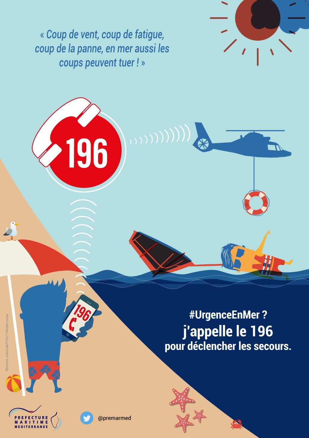 Activités nautiques : Le feu vert de la préfecture maritime de Méditerranée