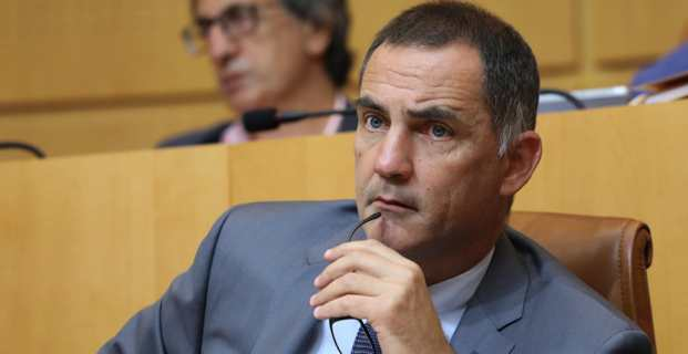Gilles Simeoni, président du Conseil exécutif de la Collectivité de Corse. Photo Michel Luccioni.