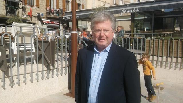 Georges Mela, maire sortant de Porto-Vecchio, candidat à sa propre succession.
