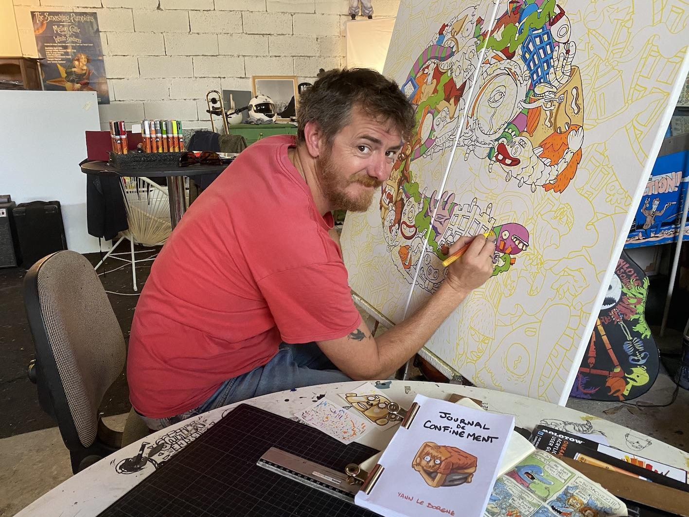Ajaccio : le journal de confinement de Yann Le Borgne prochainement en librairie