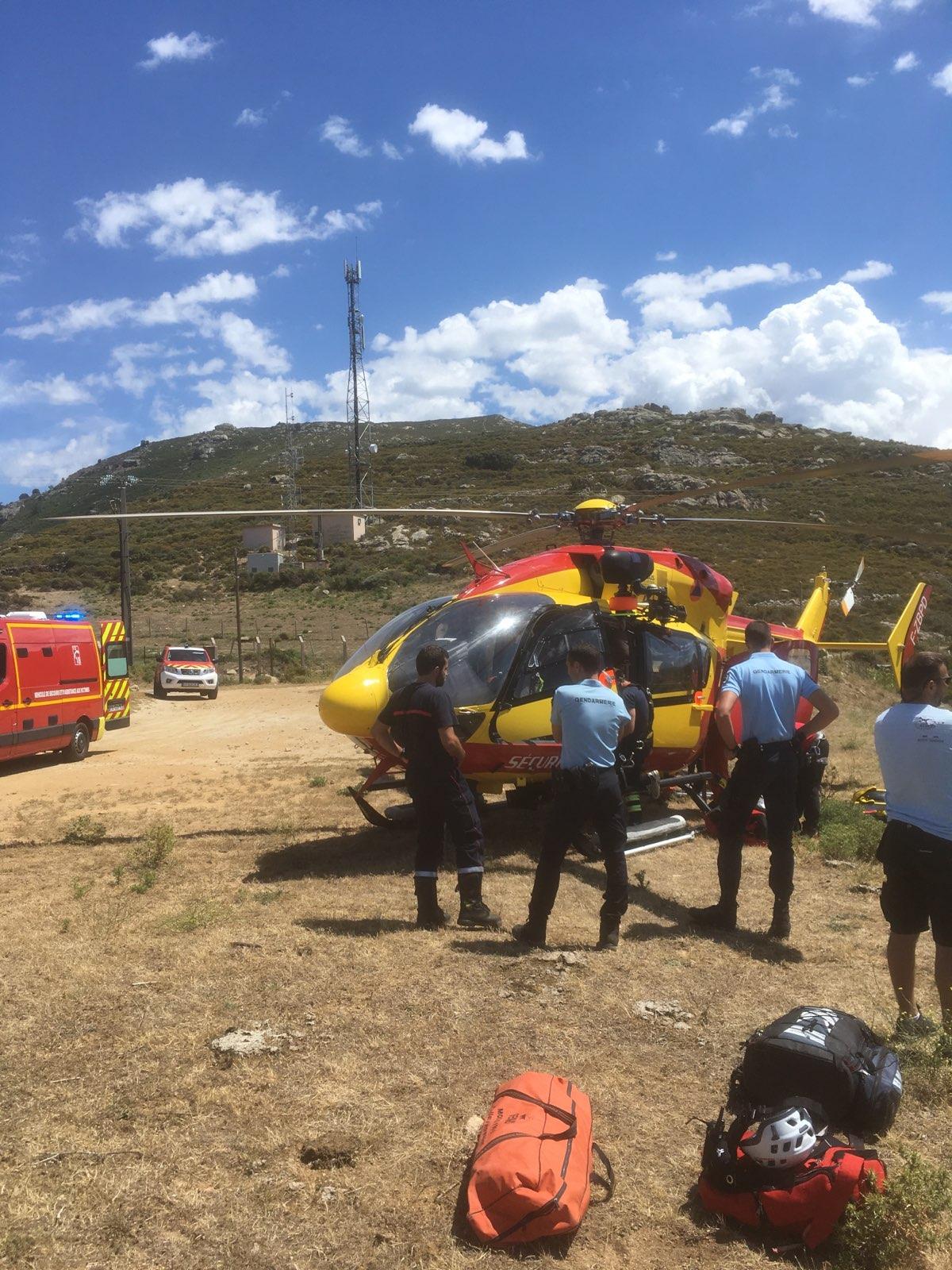 Montegrosso : Accident de parapente. Un blessé