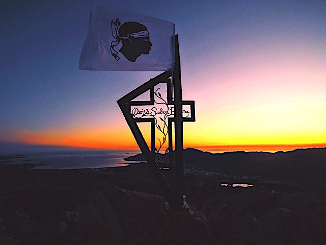 La photo du jour : sur le Monte Aragnascu