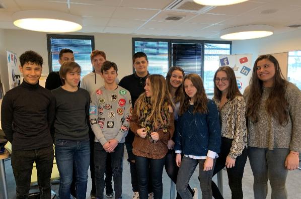 Ajaccio : les élèves du lycée du Finosello reçoivent le prix des mini-entreprises