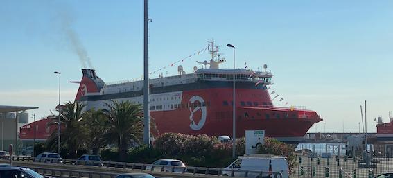 "Corsica Linea : première traversée pour ""A Nepita"""