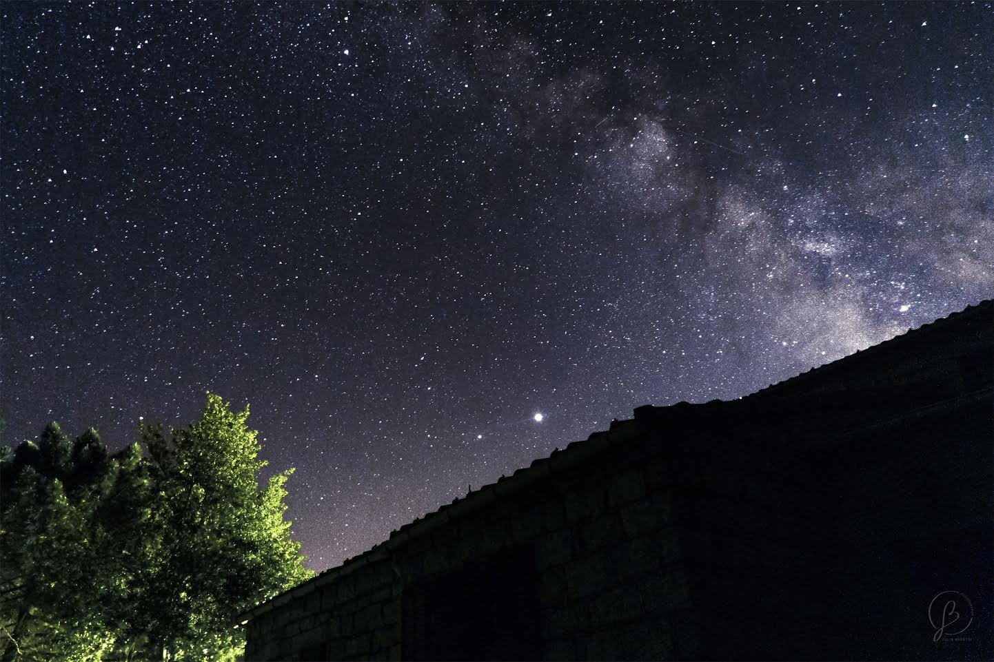 La photo du jour : la voie lactée dans le ciel de l'Alta Rocca