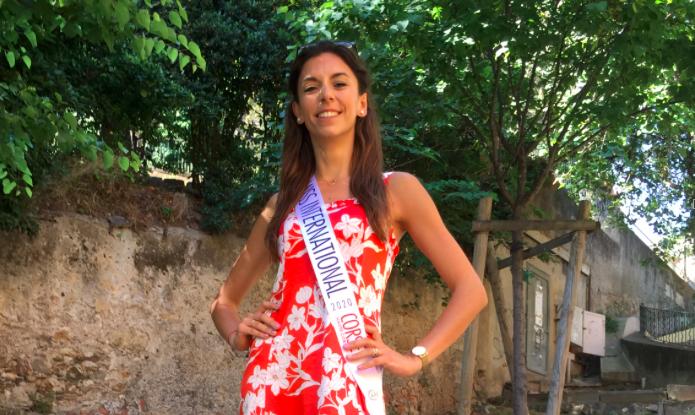Davia Mariotti, 26 ans, representera la Corse en Octobre à Roubaix au concours Miss International France