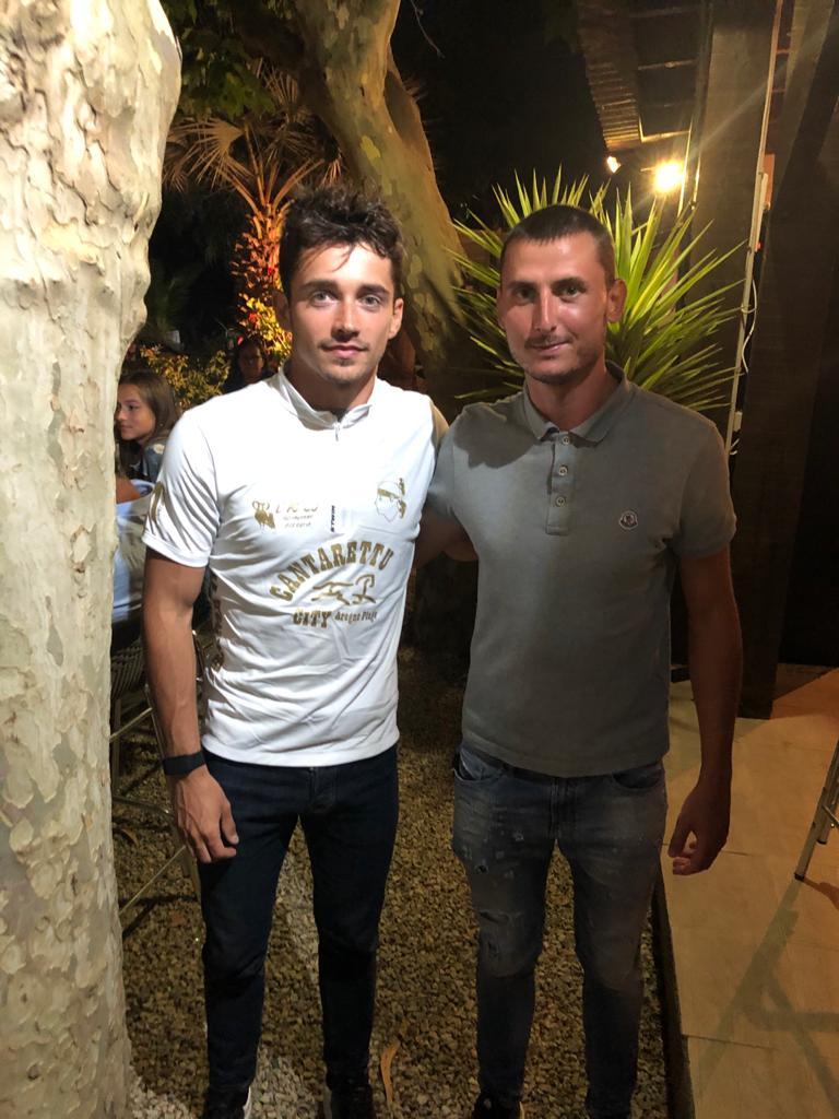 Avec Antoine Jean Martelli