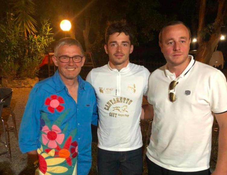 Escapade en Balagne pour le pilote de F1 Charles Leclerc