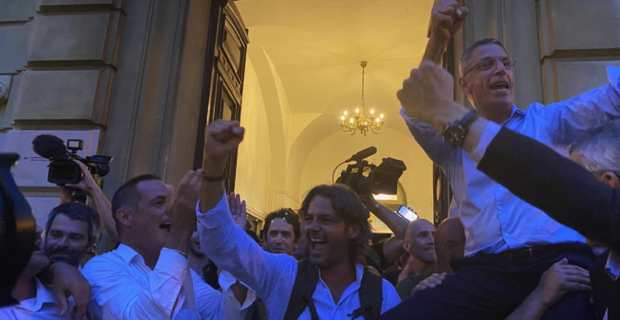 La victoire en chantant. Photo Livia Santana.