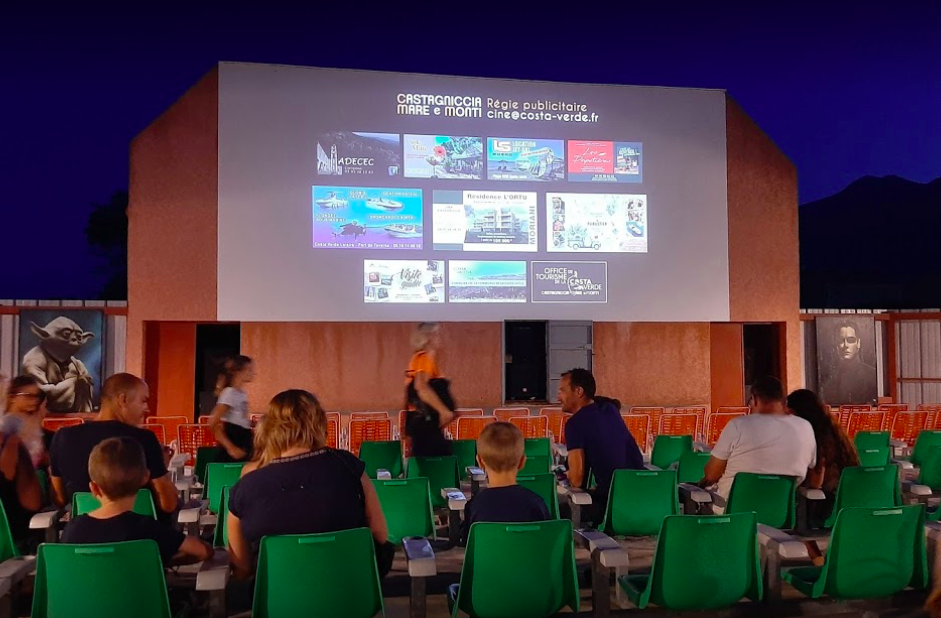 U Murianincu, le cinéma de plein air de Moriani rouvre cette semaine