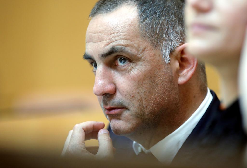Gilles Simeoni, président du Conseil exécutif de la Collectivité de Corse et leader de Femu a Corsica. Photo Michel Luccioni.