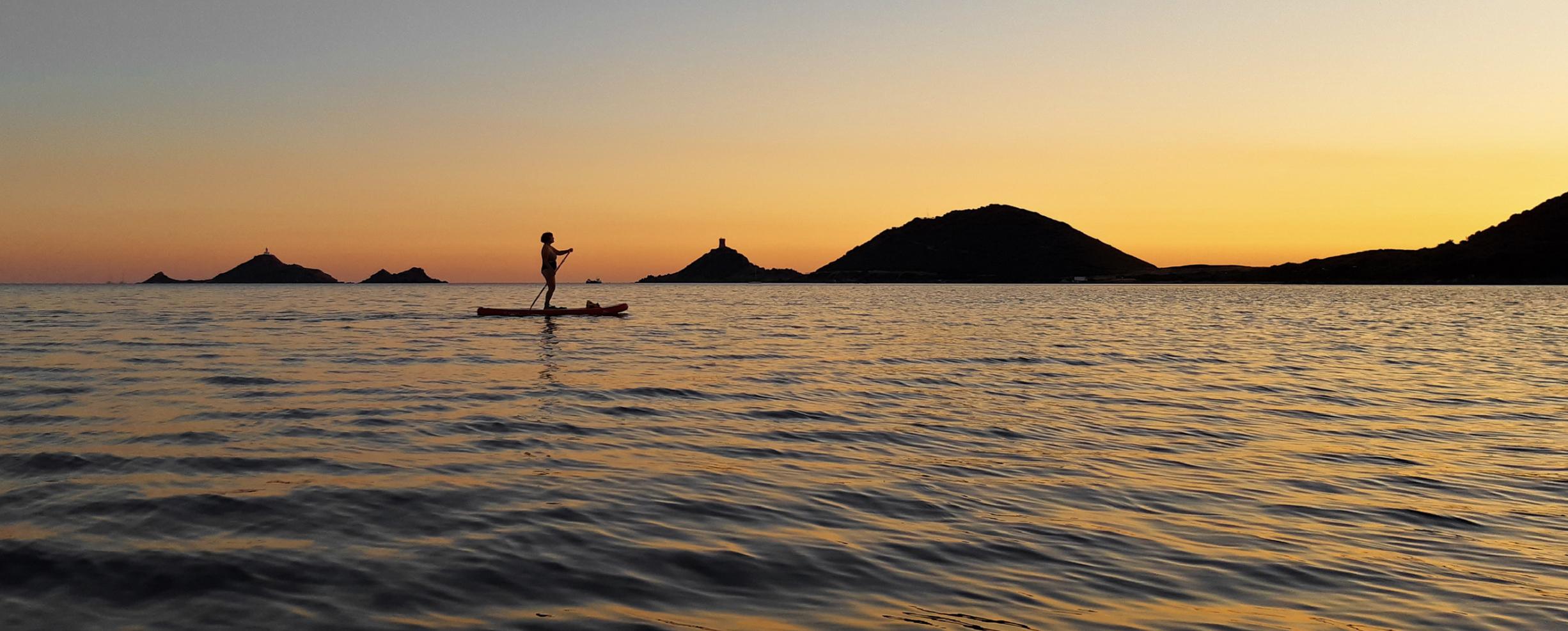 La photo du jour : sortie en Paddle autour des Sanguinaires