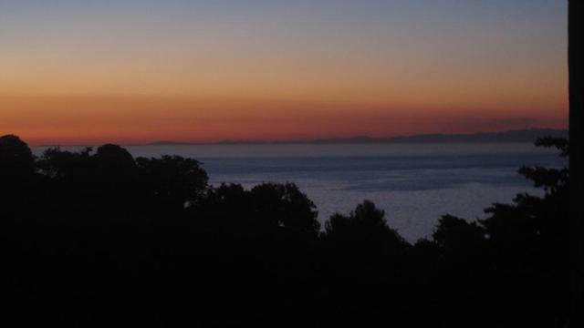 Le continent vu d'un soir d'été en Balagne, photo renaud kiselman
