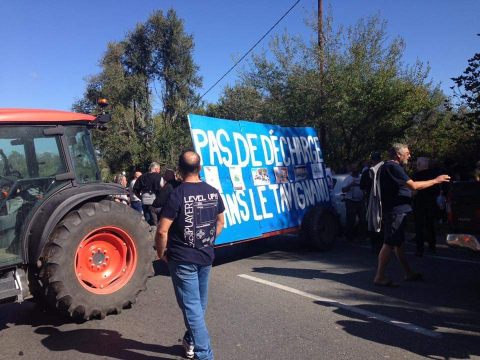 L'opposition au projet du collectif Tavignanu Vivu