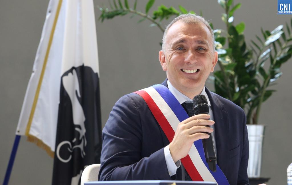 Jean-Christophe Angelini vient d'être élu maire de Portivechju. Photo Michel Luccioni.
