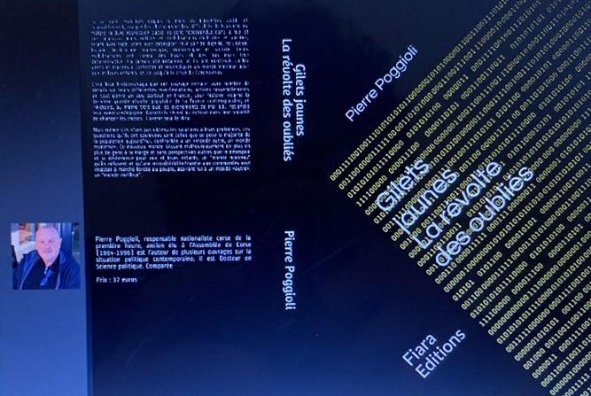 «Gilets jaunes : La révolte des oubliés», dernier ouvrage de PierrePoggioli
