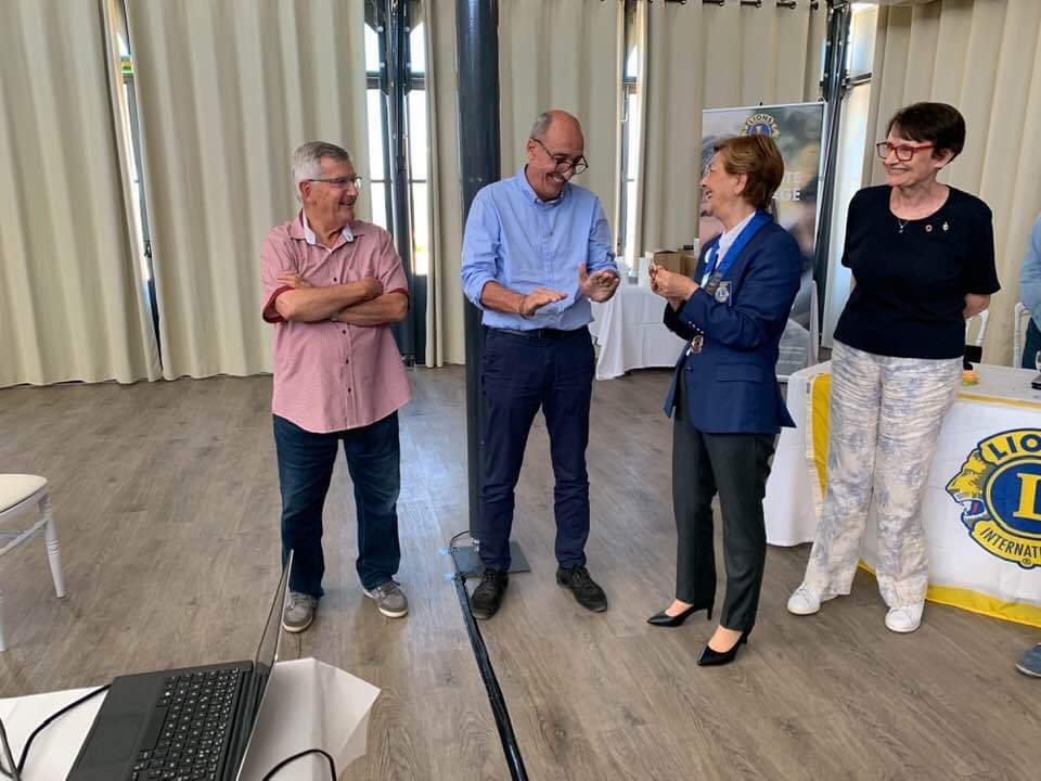 Franco Farsetti nommé à la présidence du de Lions club International de Haute -Corse