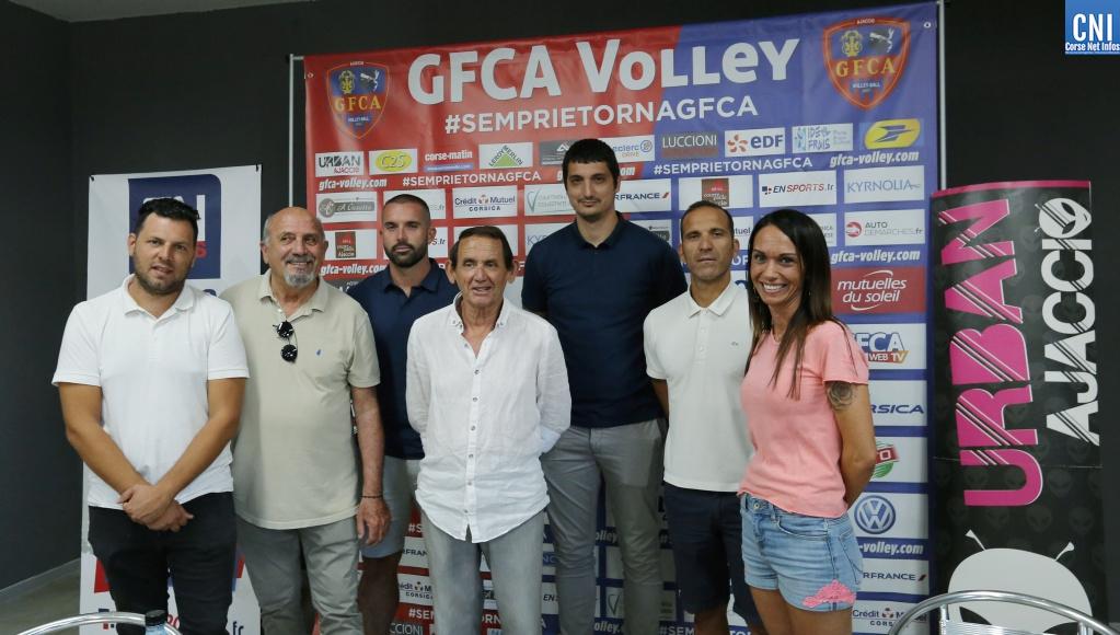 Le GFCA Volley-Ball présente sa nouvelle équipe