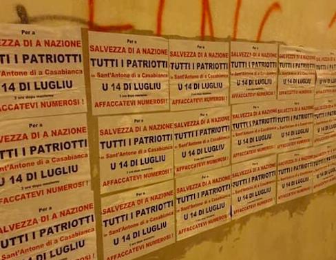 """""""Femu rinasce a Cunsulta naziunale"""": rassemblement patriotique ce 14 juillet à Sant'Antone di a Casabianca"""
