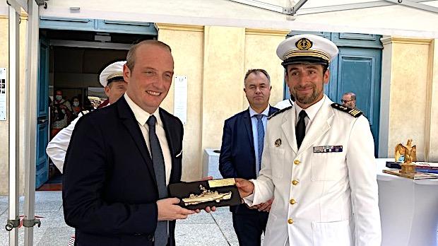 Ajaccio, nouvelle marraine du patrouilleur de haute-mer Commandant Ducuing