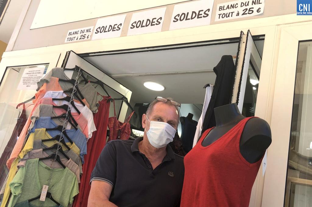 Marc Fabiani, le propriétaire de la boutique Blanc du Nil