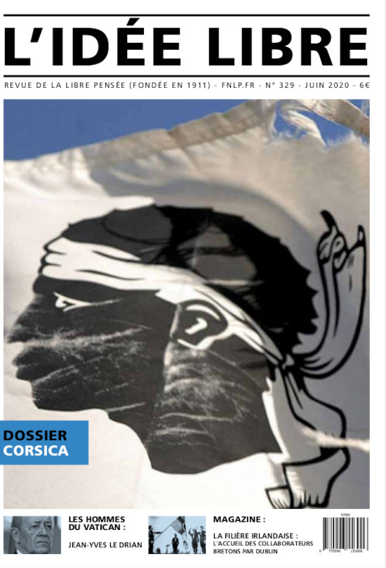 """L'association """"La libre pensée"""" décrypte """"des vérités non biaisées, non filtrées sur l'histoire de la Corse"""""""