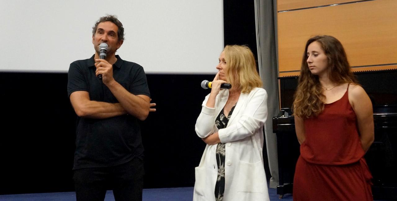 Alix Ferraris à la Cinémathèque pour l'ouverture des Nuits Med 2020