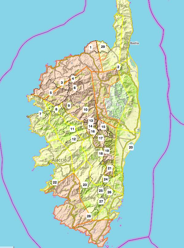 Risque incendie important dans plusieurs massifs forestiers de Corse ce 25 juillet