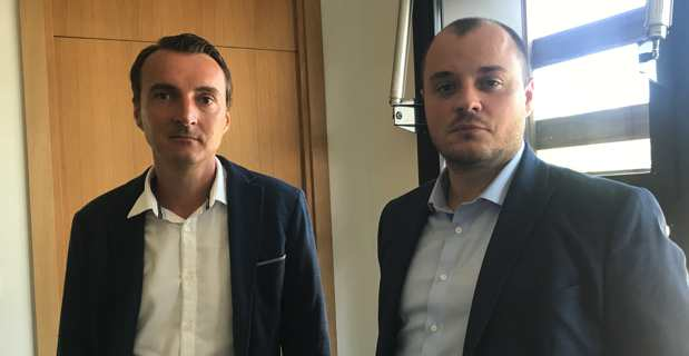 Nicolas Andrei, Directeur général délégué de la SITEC, et Laurent Sambroni, responsable financier DPO.