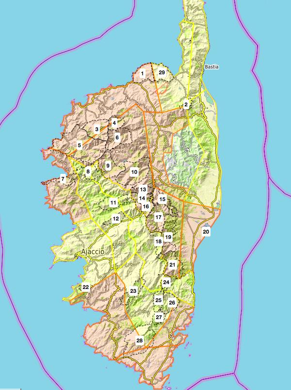 Risque incendie dans plusieurs massifs forestiers de Corse ce 27 juillet