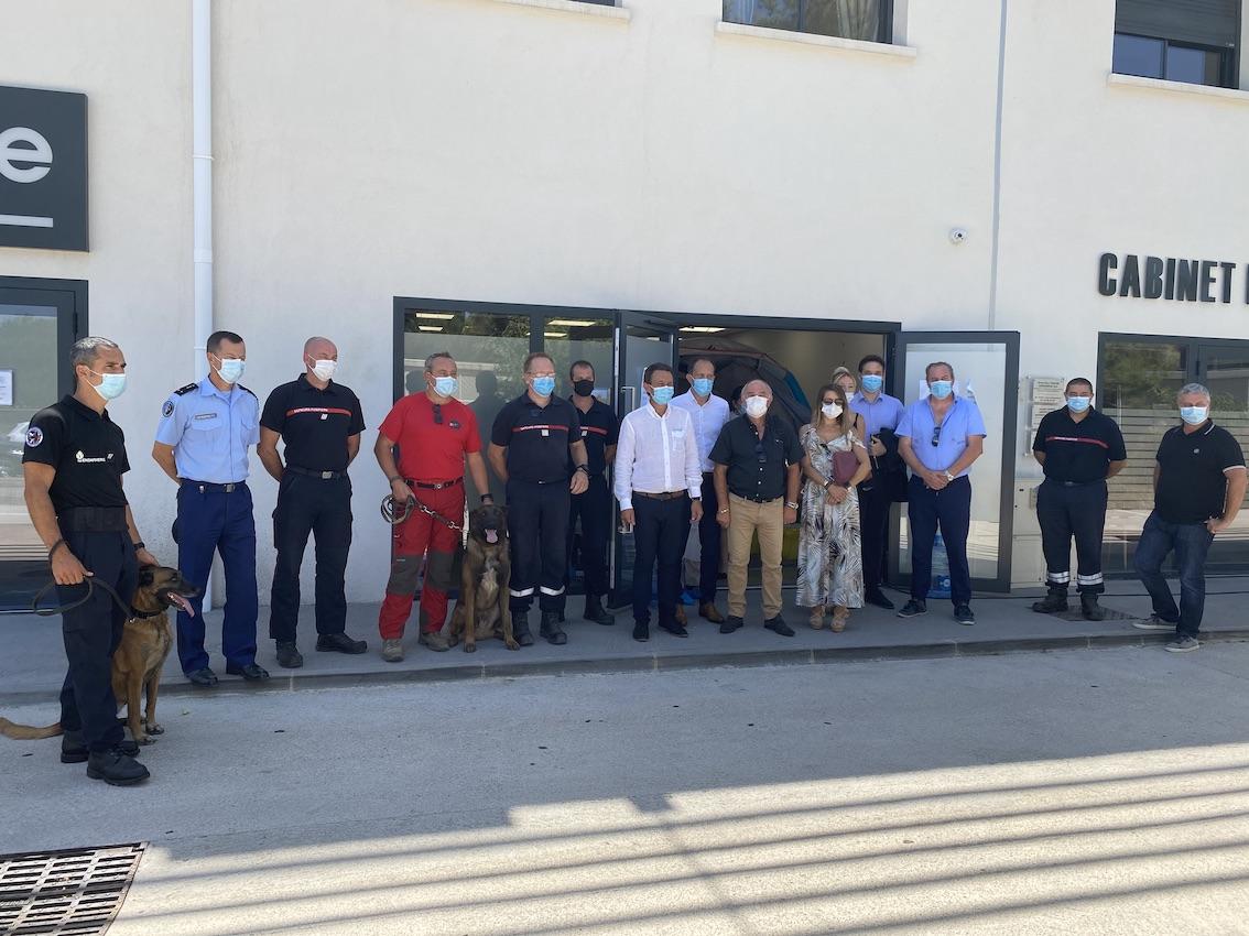 Premier jour de dépistage du Covid-19 sur la région ajaccienne