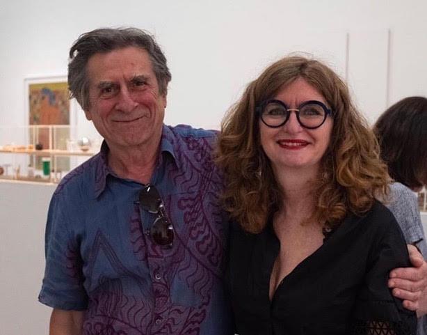 L'artiste Romain Denis avec Gino Castoriano