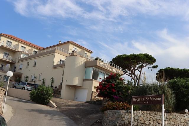 L'Hôtel Saint-Erasme à Calvi