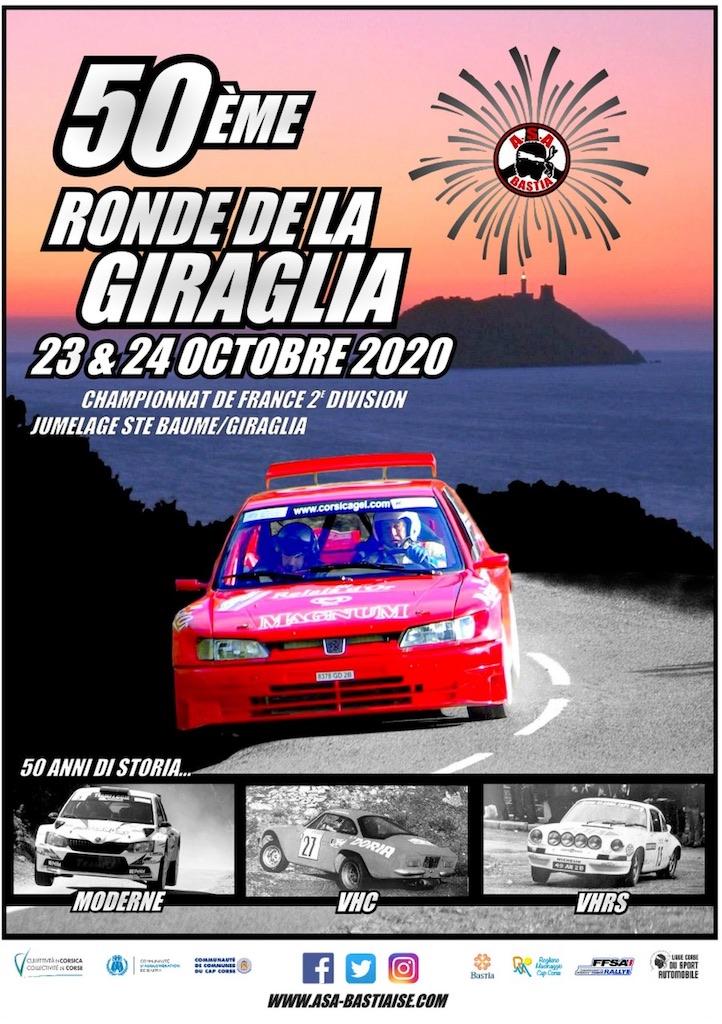 Sport automobile : annulation du rallye de Corte mais maintien de la Giraglia