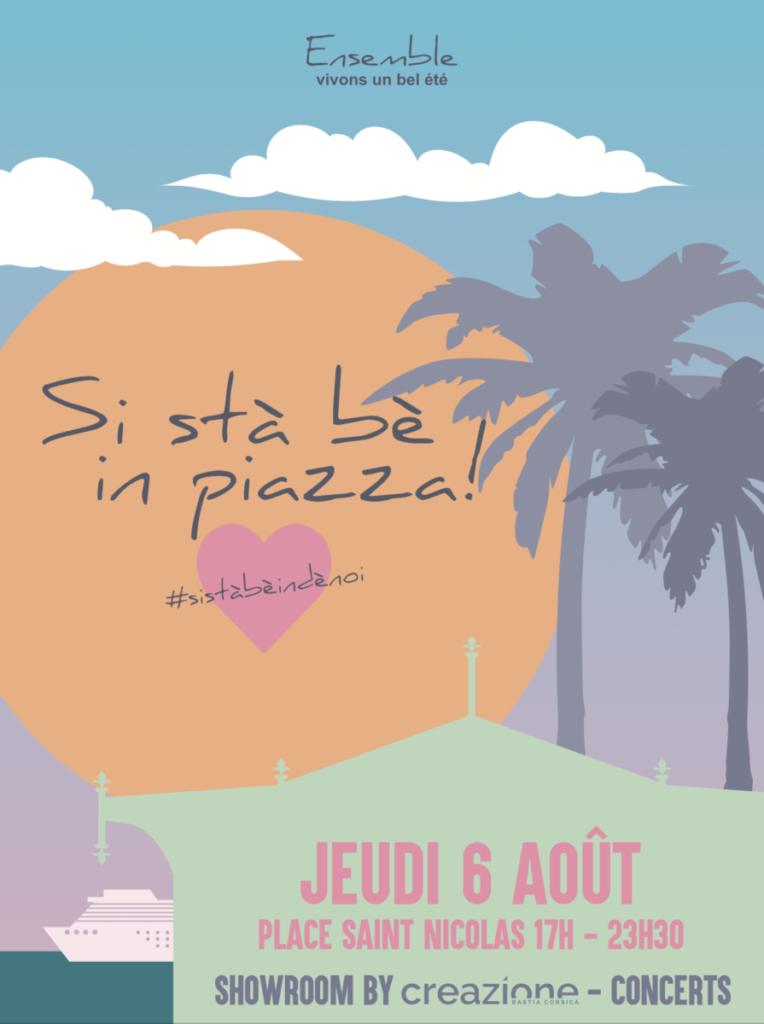 Bastia : Si stà bè in piazza, acte 2