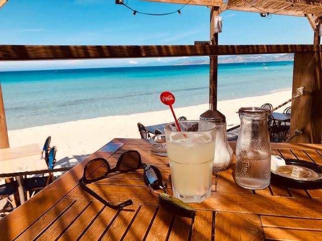 Grand beau temps comme à la plage Tamaris de Lisula (Jean - Marc Mimouni)