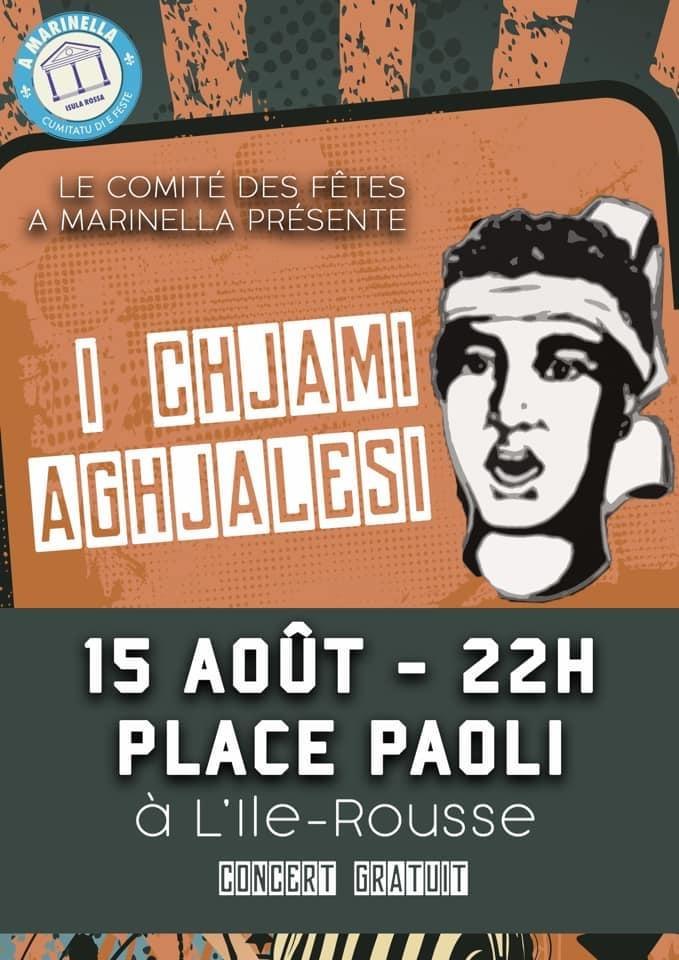 I Chjami Aghjalesi à Lisula ce 15 août