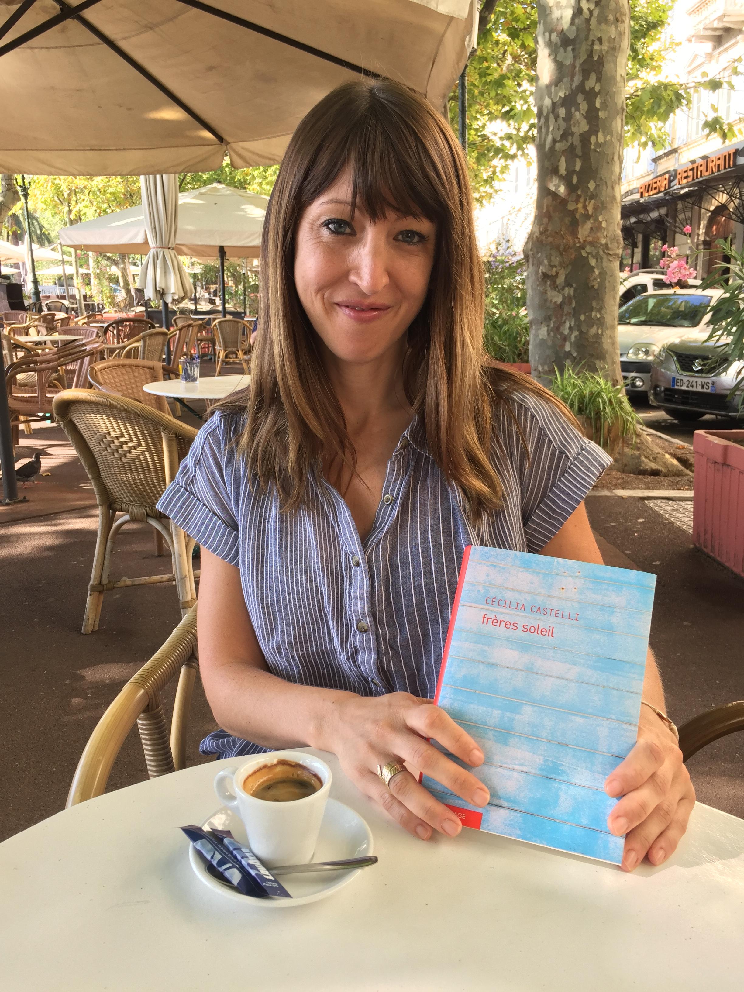 """""""Frères soleil"""", le nouveau roman de Cécilia Castelli"""