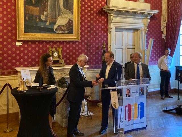 Marie-Pierre Mammola Neri, Philippe Raffin, Laurent Marcangeli et Hervé Putzoli