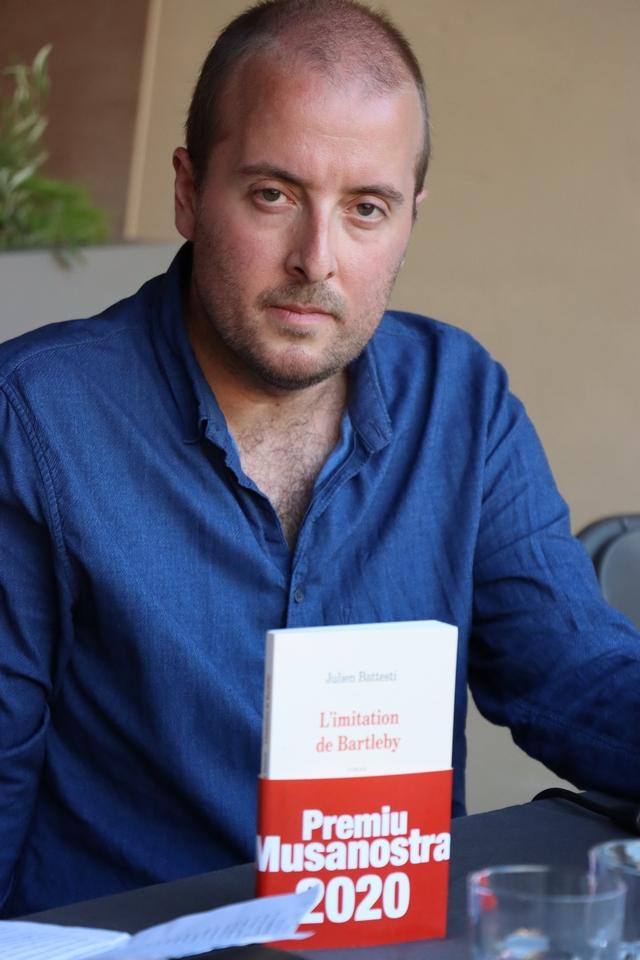 """Festival """" Estatinate"""": Jean-Luc Luciani et Julien Battesti lauréats 2020"""